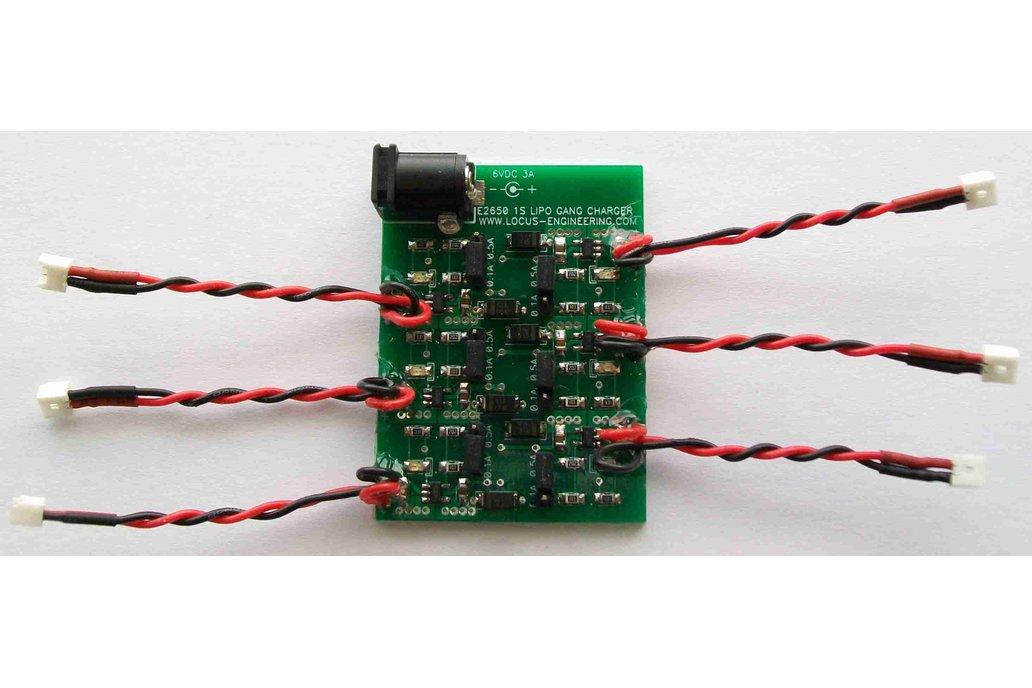 E2650 1S LiPo Battery Gang Charger 1