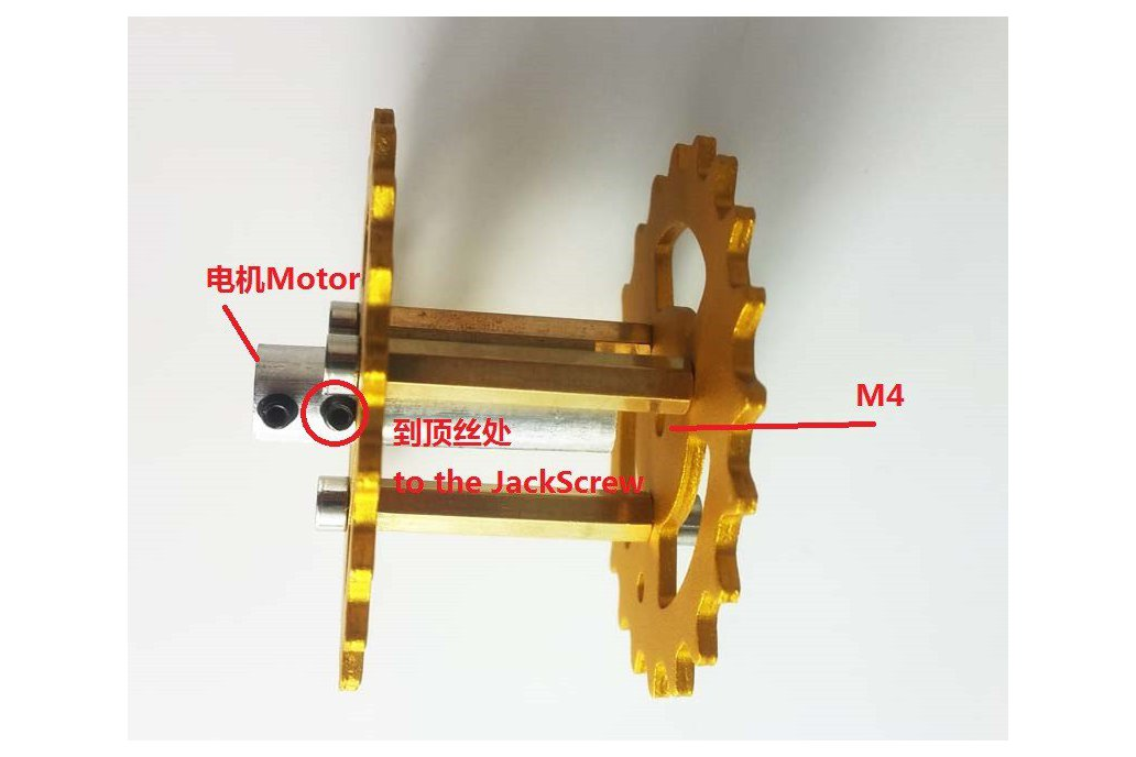 Metal Driving Wheel for Robot Tank Car Chassis 3