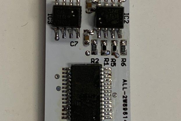 High speed Opto-isolated USB-UART converter