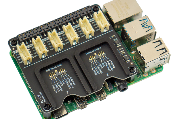 Modular HAT for Raspberry Pi