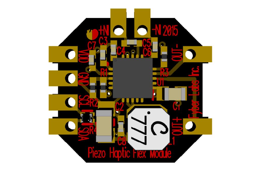 Piezo Haptic Flex Module 6