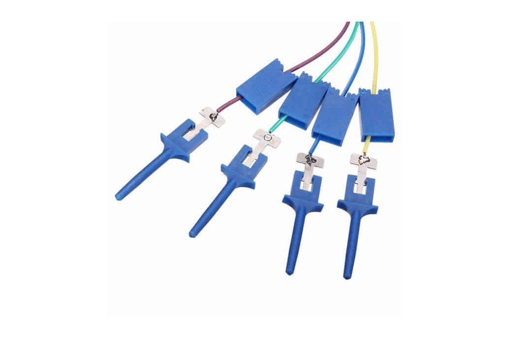12Pc Test Clamp Wire Hook for Logic Analyzer 3