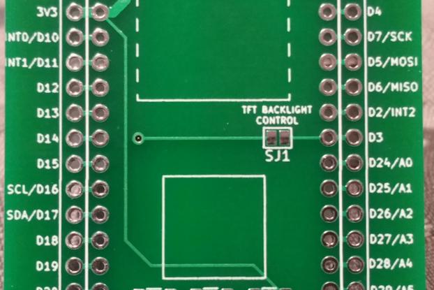 LoRa1284 TFT Shield