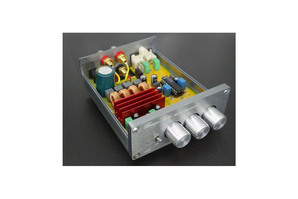 Hi-Fi Amplifier 2*50W bass treble top quality 1