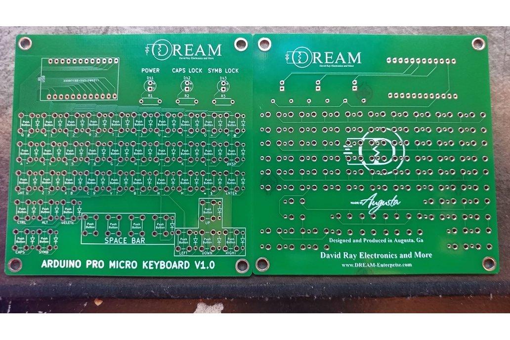 Arduino Pro Micro Keyboard Matrix Board 1