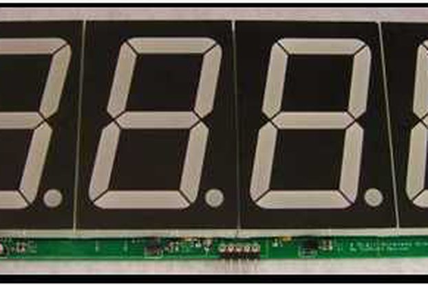 "PICLinkRS  4 Segment 2.75"" Wireless Display"