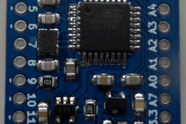 RFM69 radio node mini