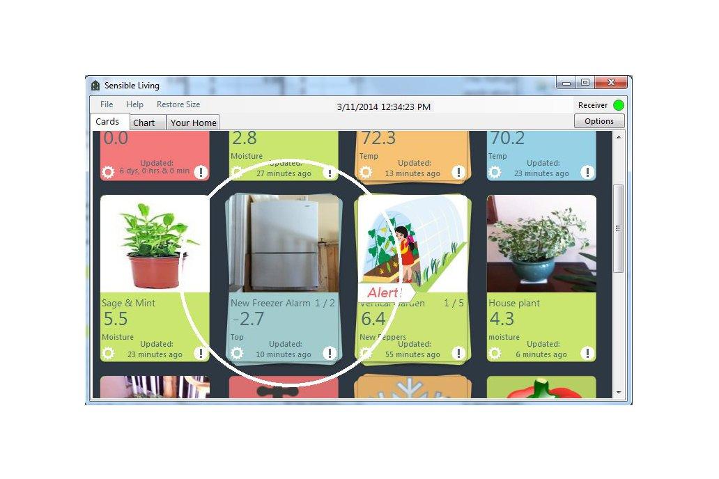 Wireless Refrigerator/Freezer sensor/alarm 4