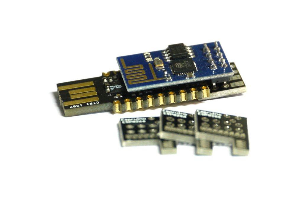 Espruino Pico ESP8266 WiFi Shim 1