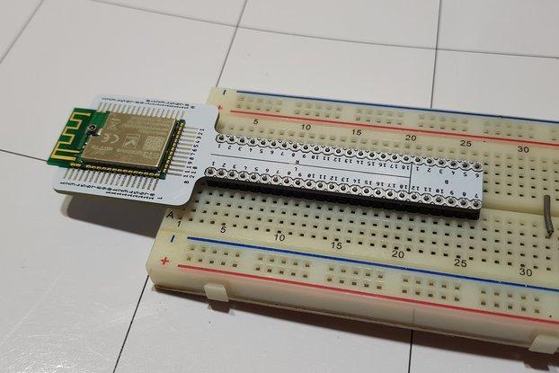 Breadboard module adapter