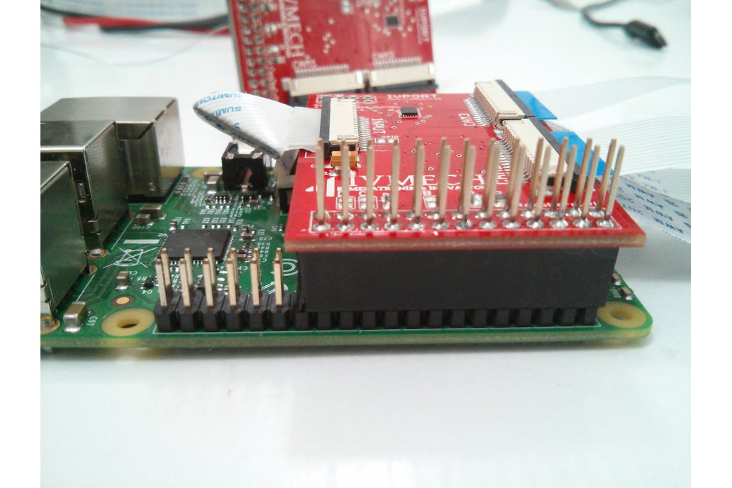 IVPort Raspberry Pi Camera Module Multiplexer 3