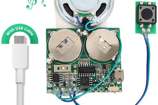 8M Push Button Recordable Sound Module_GY17843