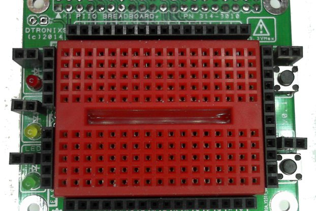 Raspberry PIIO - Breadboard+ add-on board