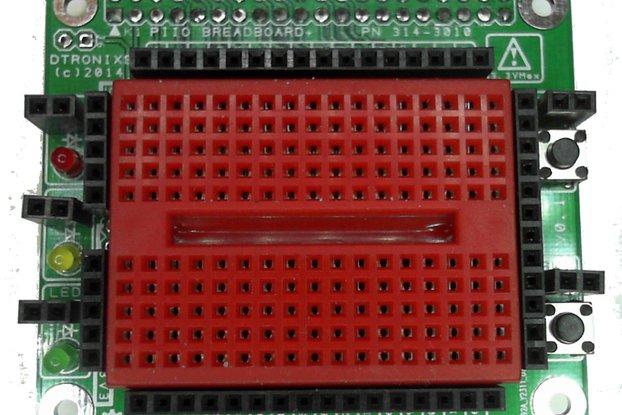 Raspberry PIIO - Breadboard+ add-on board