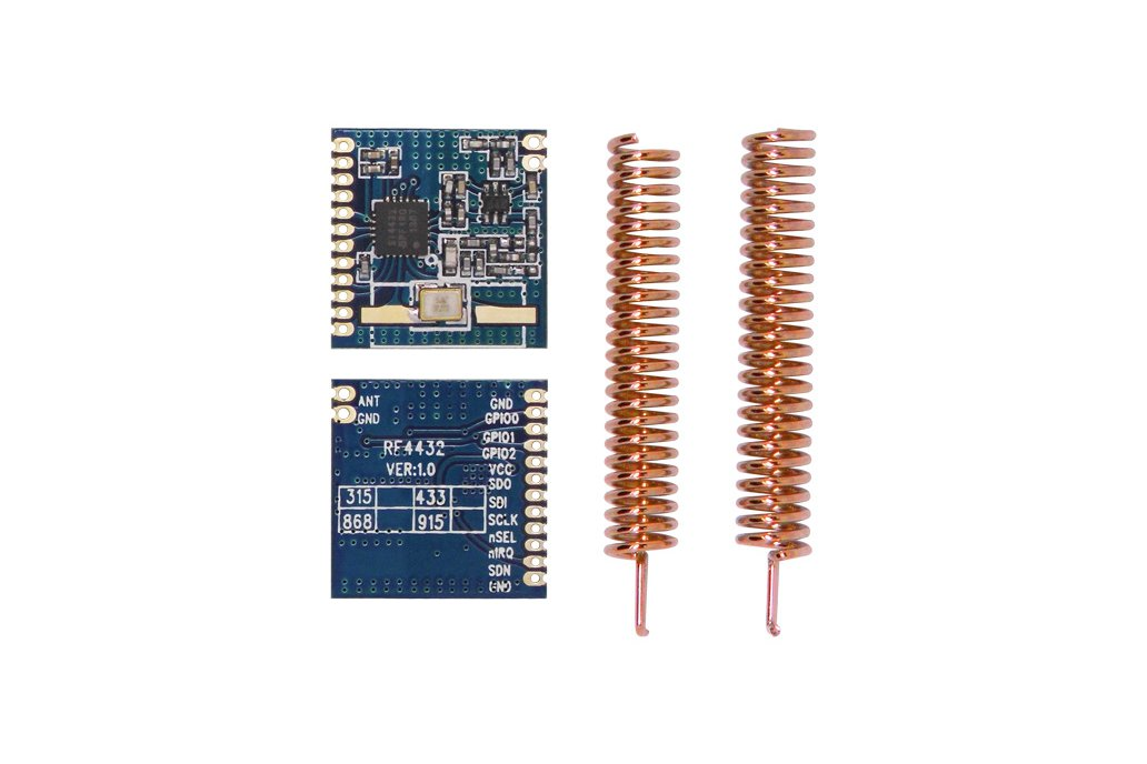 2pcs 433MHz FSK wireless transceiver module RF4432 4