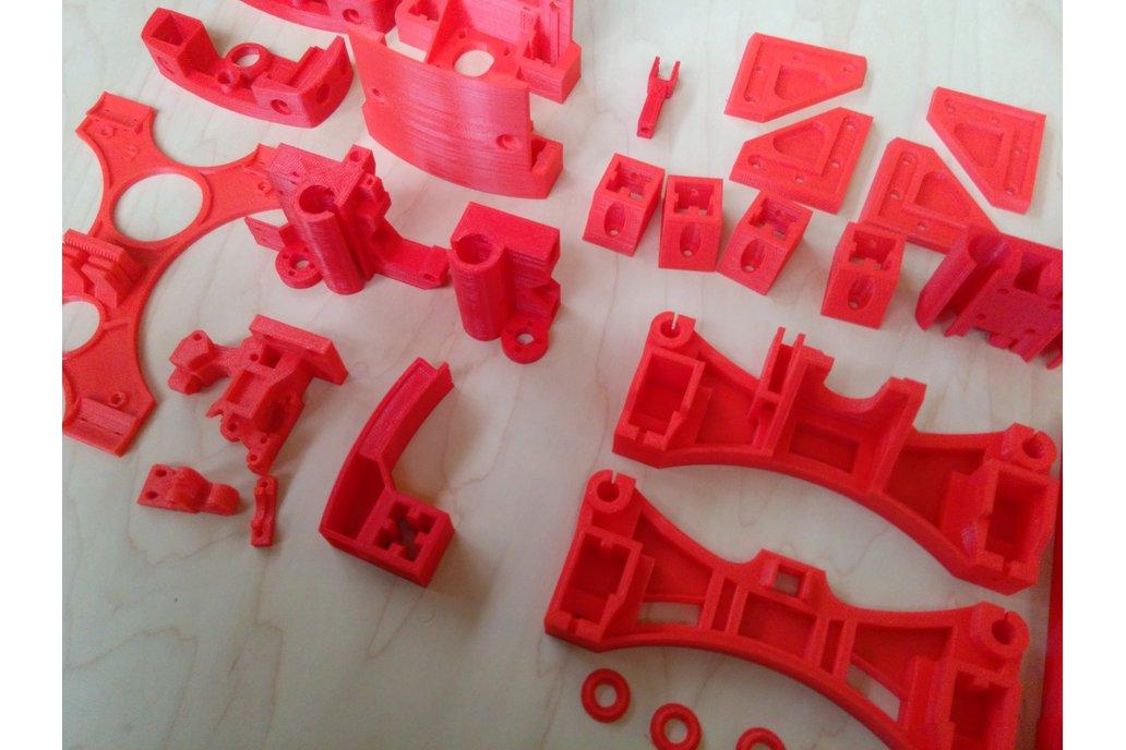 Reprap Wilson II plastic parts kit 5