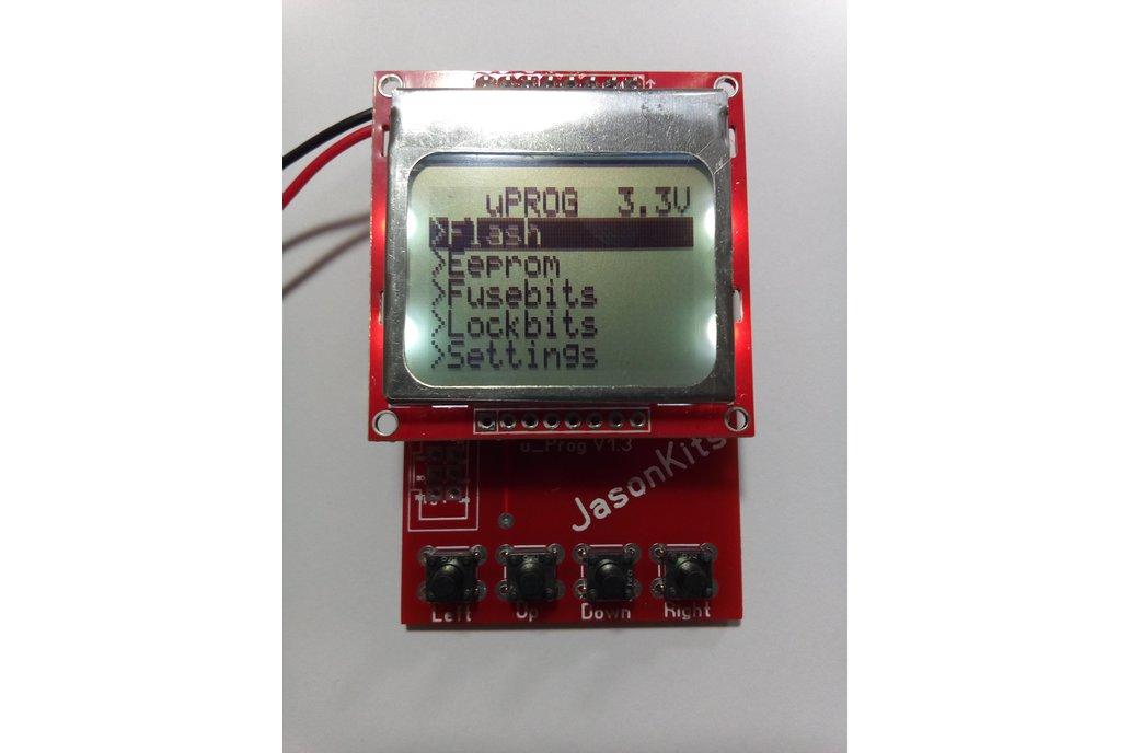 Portable Micro AVR Programmer 1