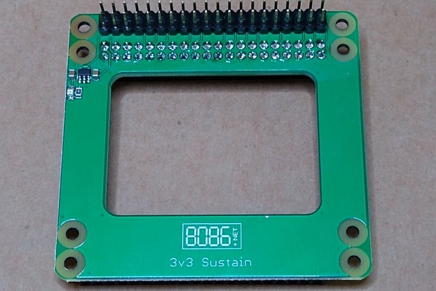 3v3 Sustain for Raspberry Pi 4