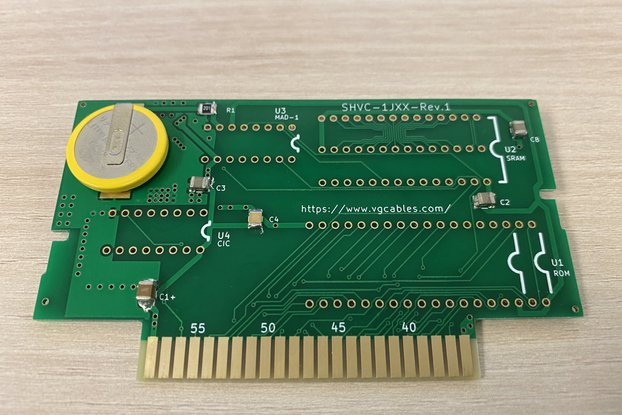 Replacement PCB / ROM Cartridge SNES