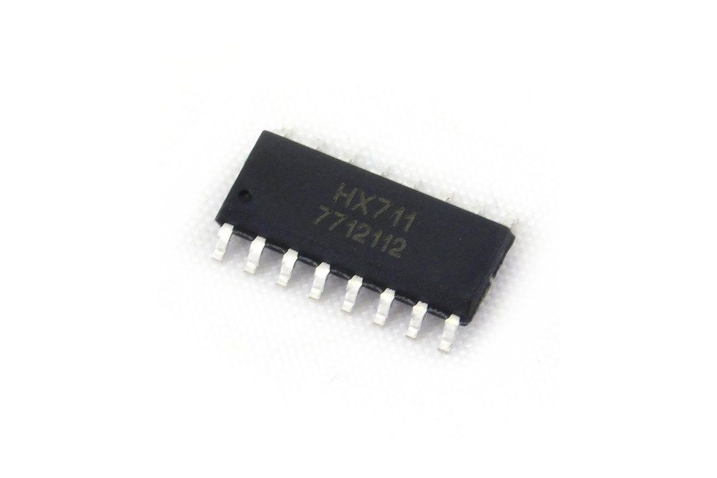 HX711 24 bits Loadcell amplifier/driver chip 1