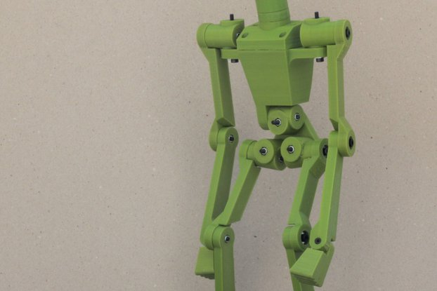 3D Printed Action Figure Kit