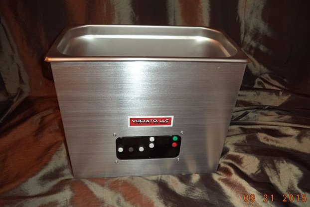 Vibrato 6 Quart 80KHz Ultrasonic Cleaner