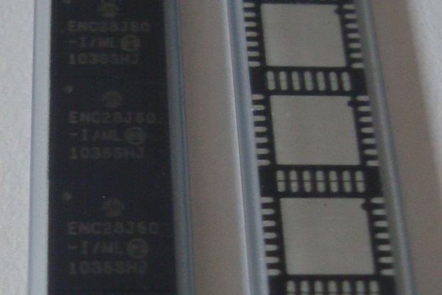 60 pcs. ENC28J60 Ethernet controller (QFN-28)