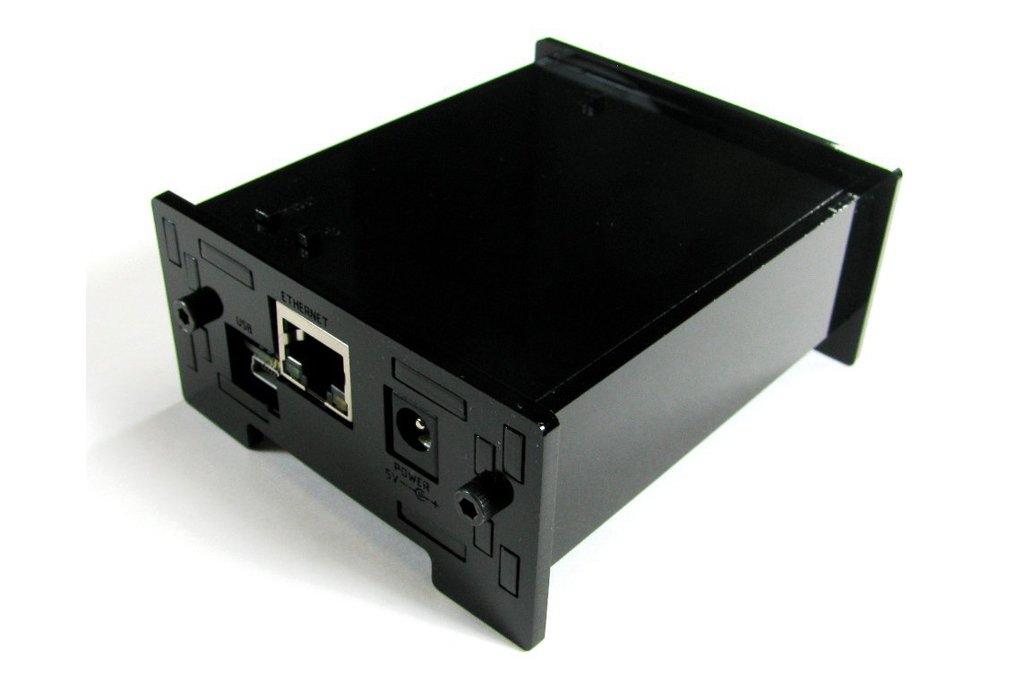 BeagleBone Black Enclosure - Black Acrylic 1