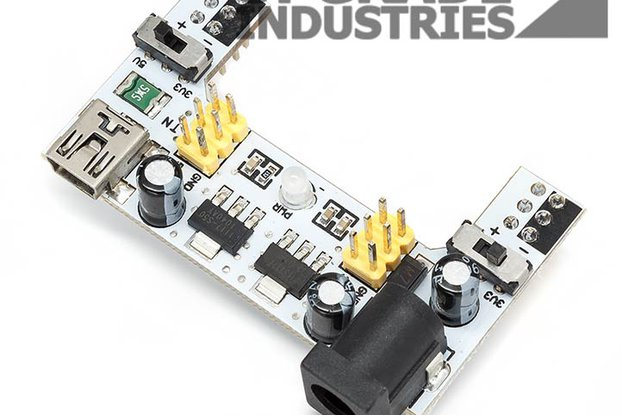 Two Output Breadboard Power Supply Module 3.3-5.0V