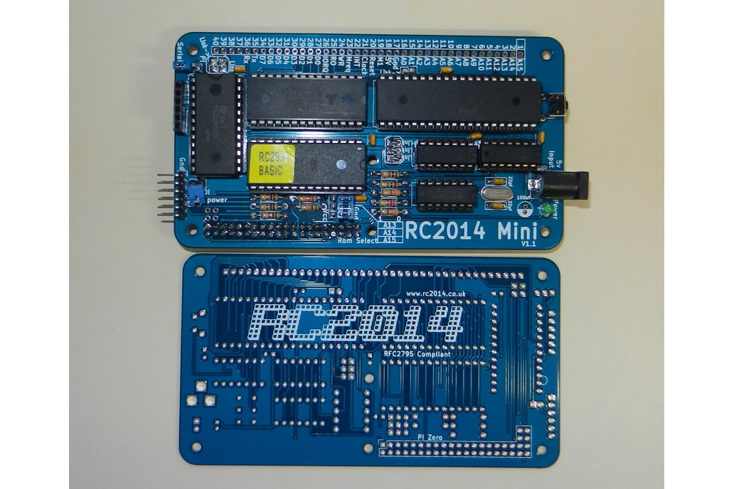 RC2014 Mini - Single Board Z80 Computer Kit 2