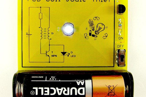 PCB coil joule thief