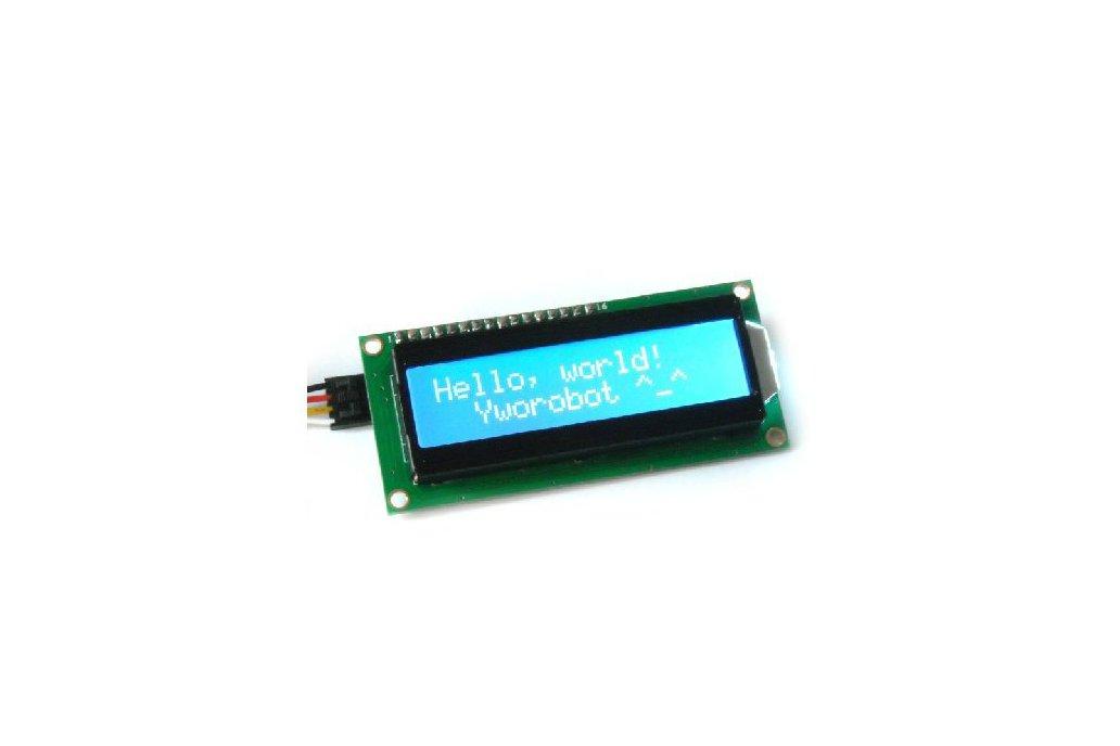 Blue LCD module (IIC/I2C 1602) 1