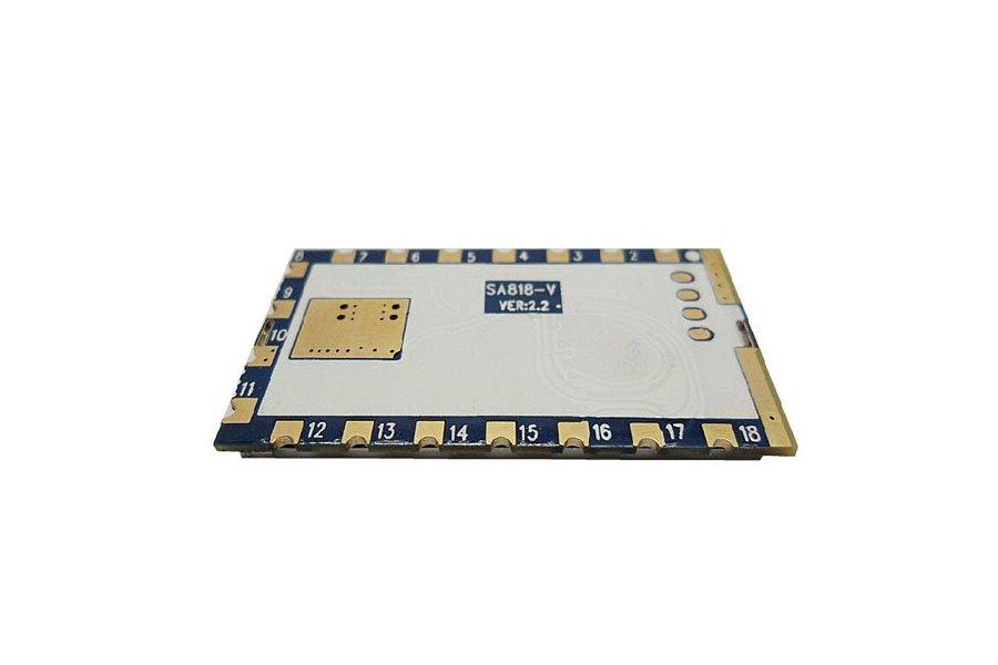 High-integrated Embedded walkie talkie module