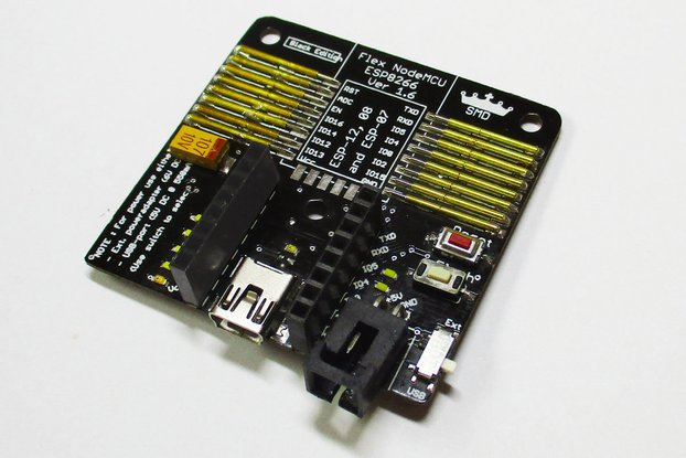 Flex NodeMCU programmer BE (for ESP-12, 08 and 07)