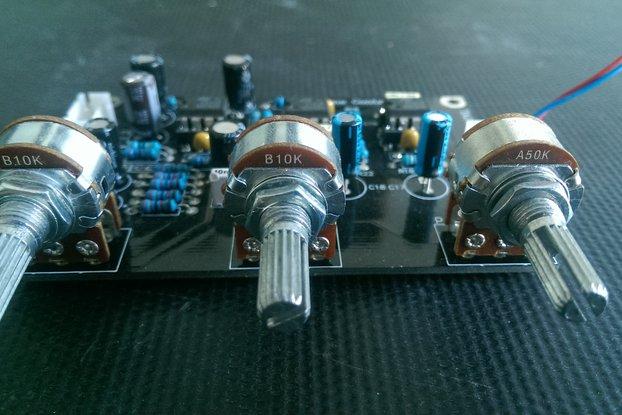 Hi-Fi Tone Control Board