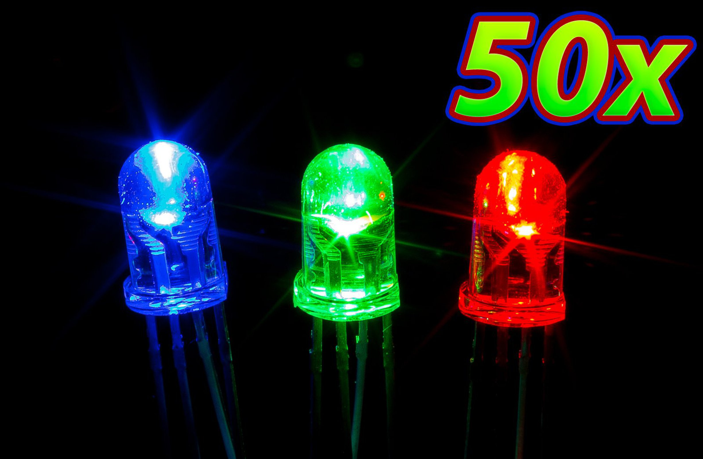 50 pack 5mm rgb led from upgrade industries on tindie. Black Bedroom Furniture Sets. Home Design Ideas