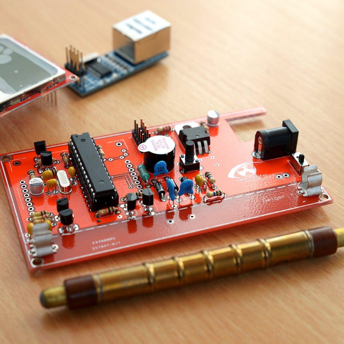 Uradmonitor Kit1 From Radhoo On Tindie Geigercountercircuit Measuringandtestcircuit Circuit Diagram