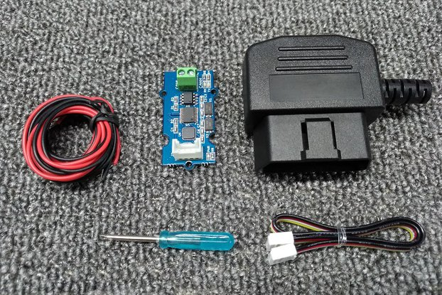 OBD-II & CAN Bus Development Kit