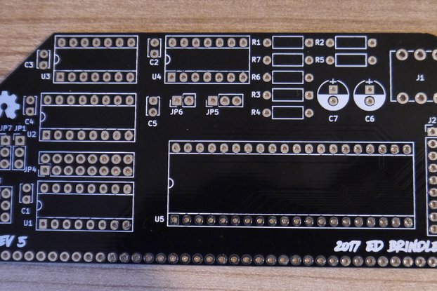 YM/AY Sound Card PCB for the RC2014 Computer