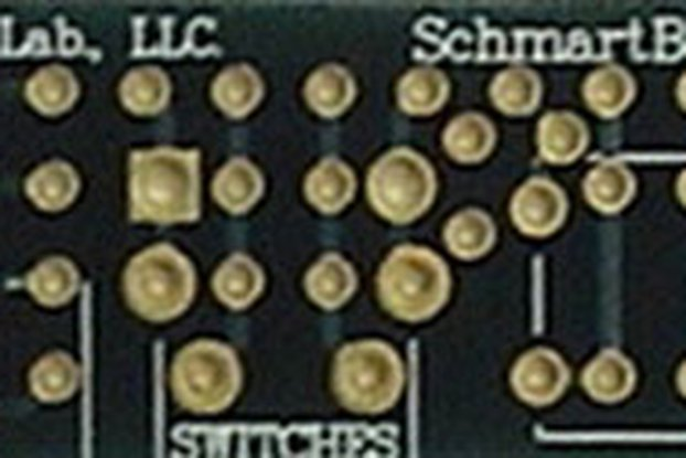 """Through Hole Switches T.H. 0.5"""" X 2"""" Grid"""