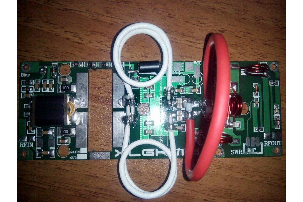 100W FM VHF 80Mhz to 180Mhz RF Power Amplifier