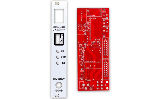 Five Amp Power PCB and Panel