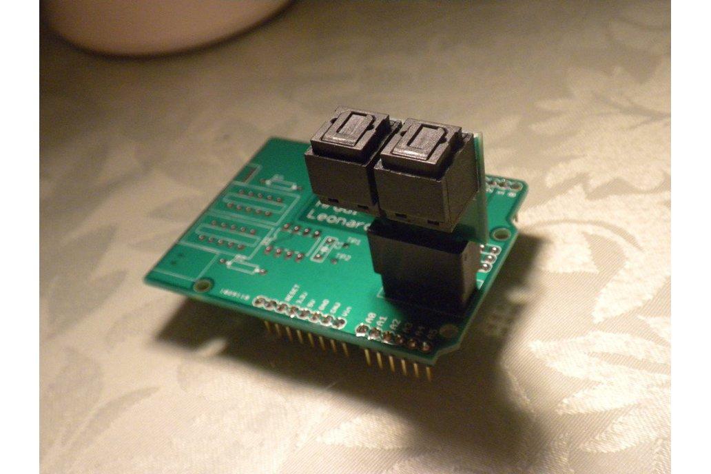 Optical UART Shield for Arduino Leonardo (M120v1) 1