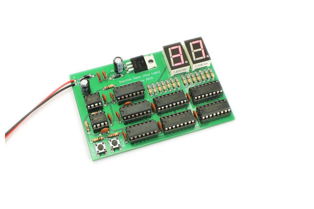 Reaction Tester - Electronic Kit 1