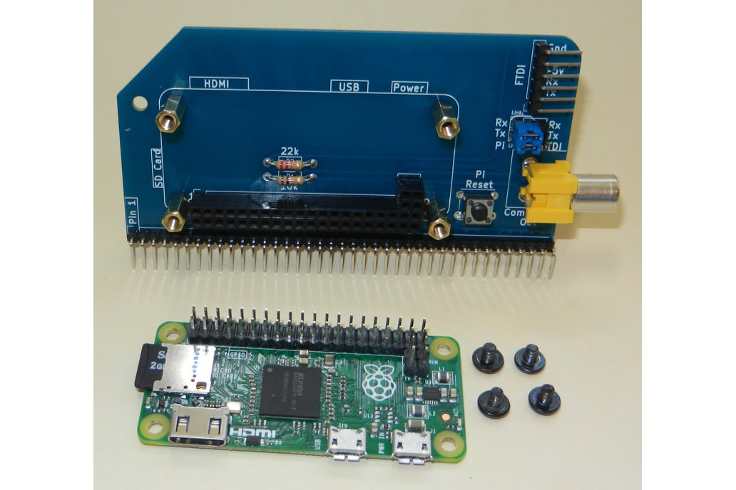 Raspberry Pi Zero Serial Terminal for RC2014 6