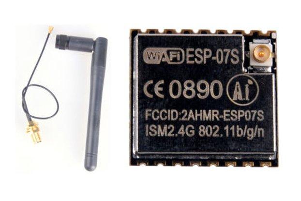 ESP8266 ESP-07 WiFi Module + SMA ANTENNA