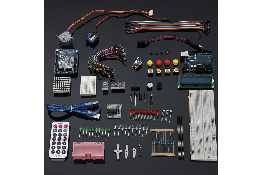 UNO R3 Starter Kit 4 x 4 Keypad LCD1602 Servo 1