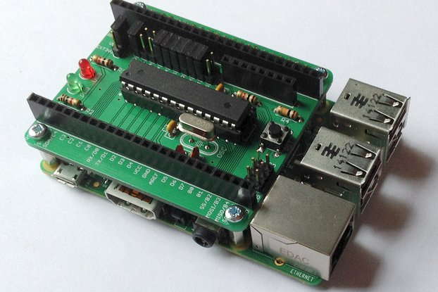 AVRPi-328 for Raspberry Pi A+/B+/Pi2