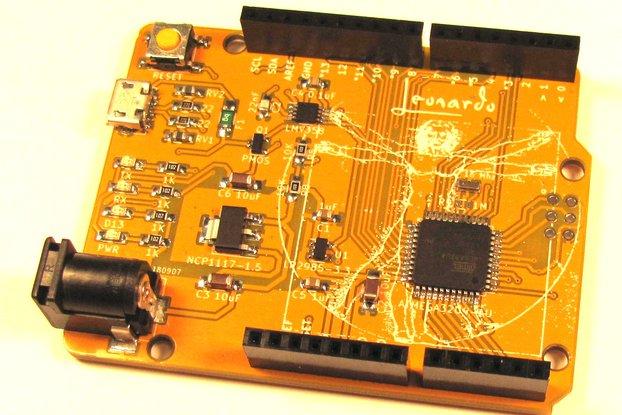 Leo Kit (Arduino-Compatible Leonardo Clone)