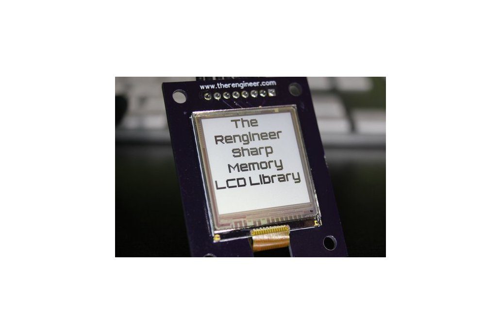 Sharp Memory LCD Breakout and Library 1
